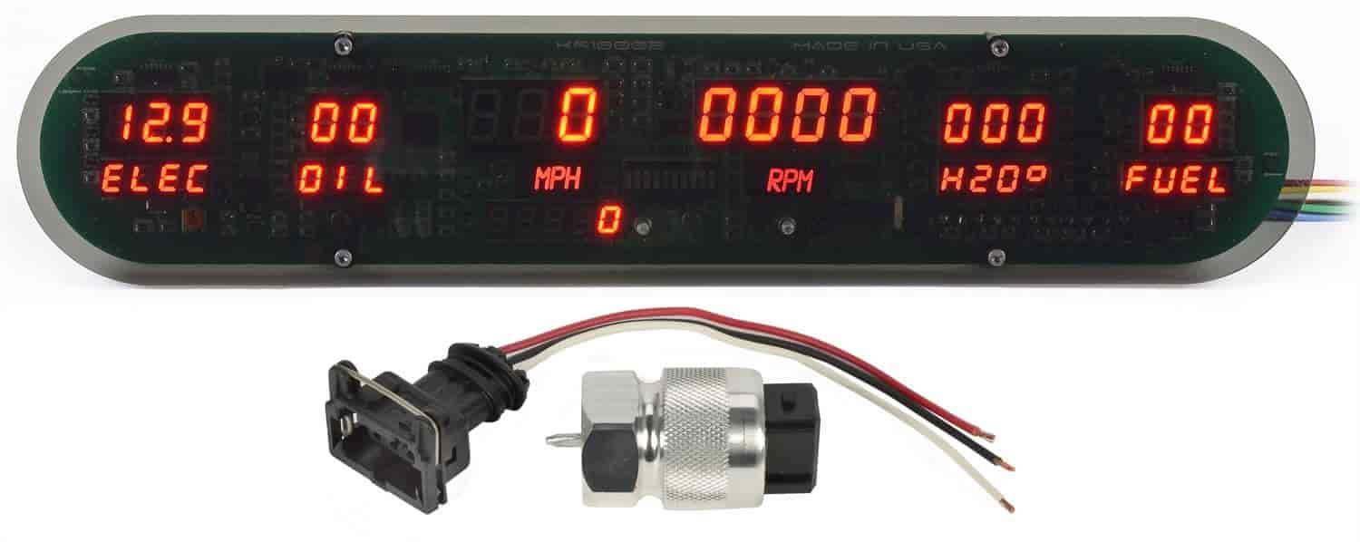 JEGS Performance Products 41626 - JEGS New Digital Gauge Panels