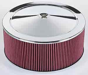 JEGS Performance Products 500005 - JEGS Performance Chrome Air Cleaners