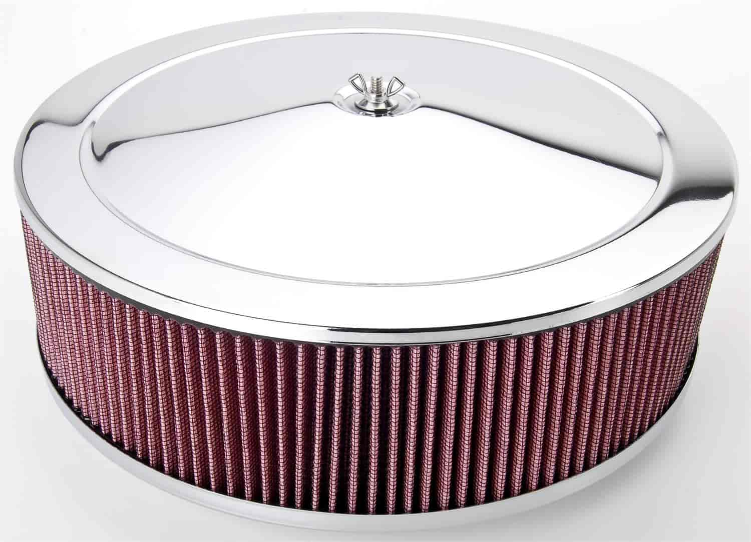 JEGS Performance Products 50005 - JEGS Performance Chrome Air Cleaners