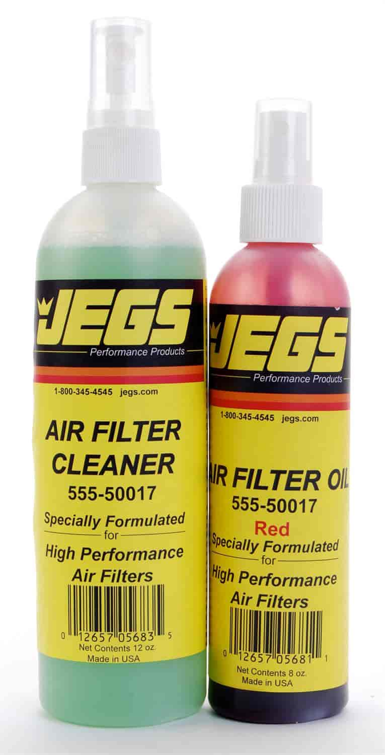 JEGS Performance Products 50015 - JEGS Air Filter Cleaner and Oil Kit