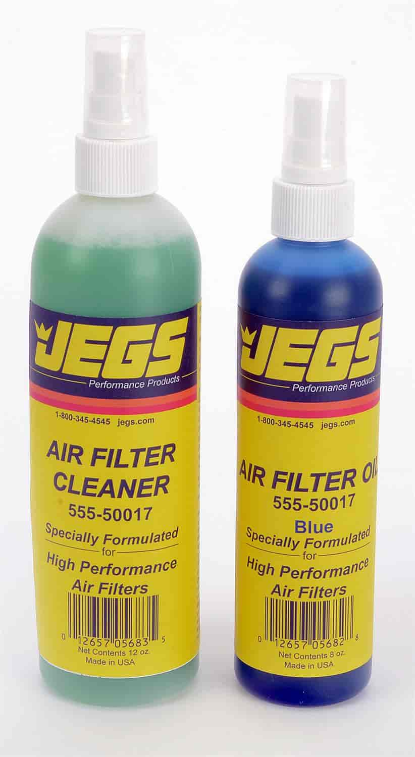 JEGS Performance Products 50016 - JEGS Air Filter Cleaner and Oil Kit