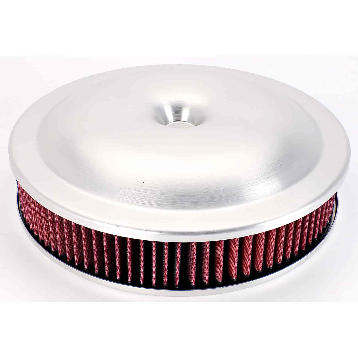 JEGS Performance Products 50040 - JEGS Lightweight High Flow Spun Aluminum Air Cleaner