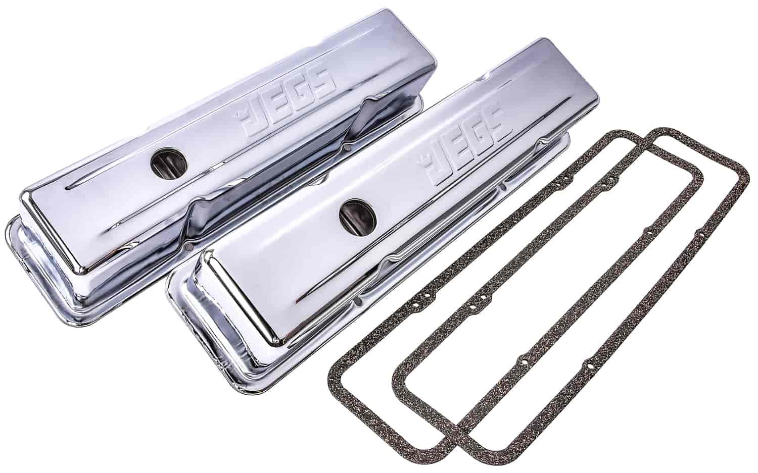 JEGS Performance Products 50103 - JEGS Chrome Valve Covers