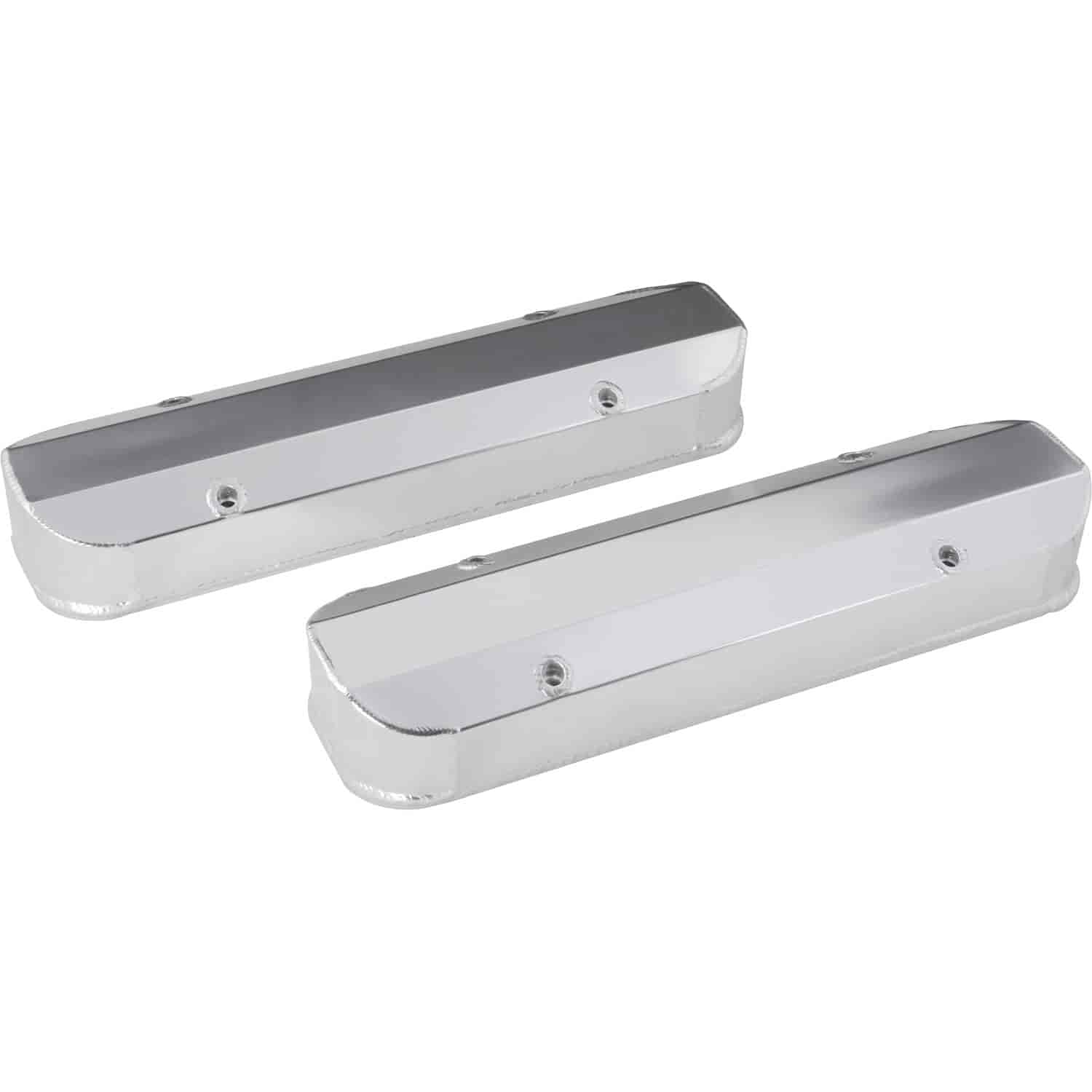 JEGS Fabricated Aluminum Valve Covers Pontiac 326-455