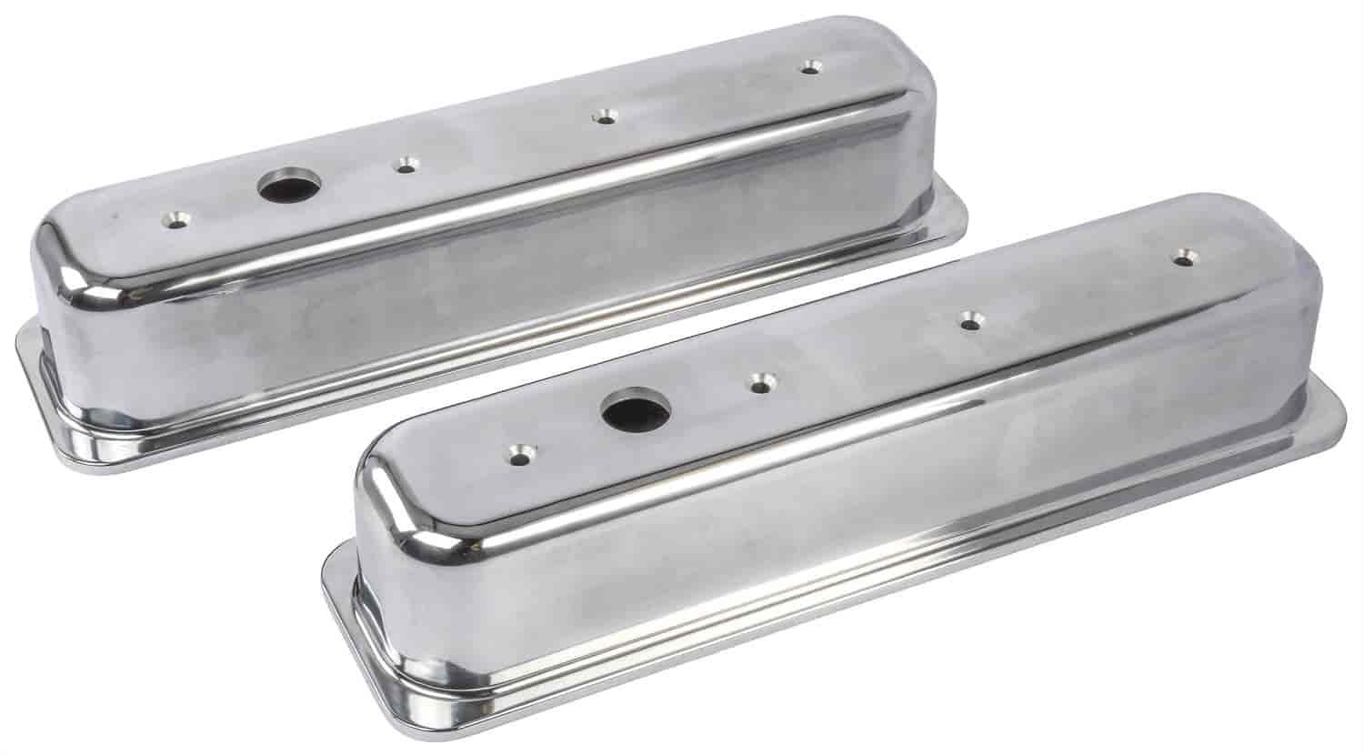 JEGS Performance Products 50104 - JEGS Cast Aluminum Valve Covers