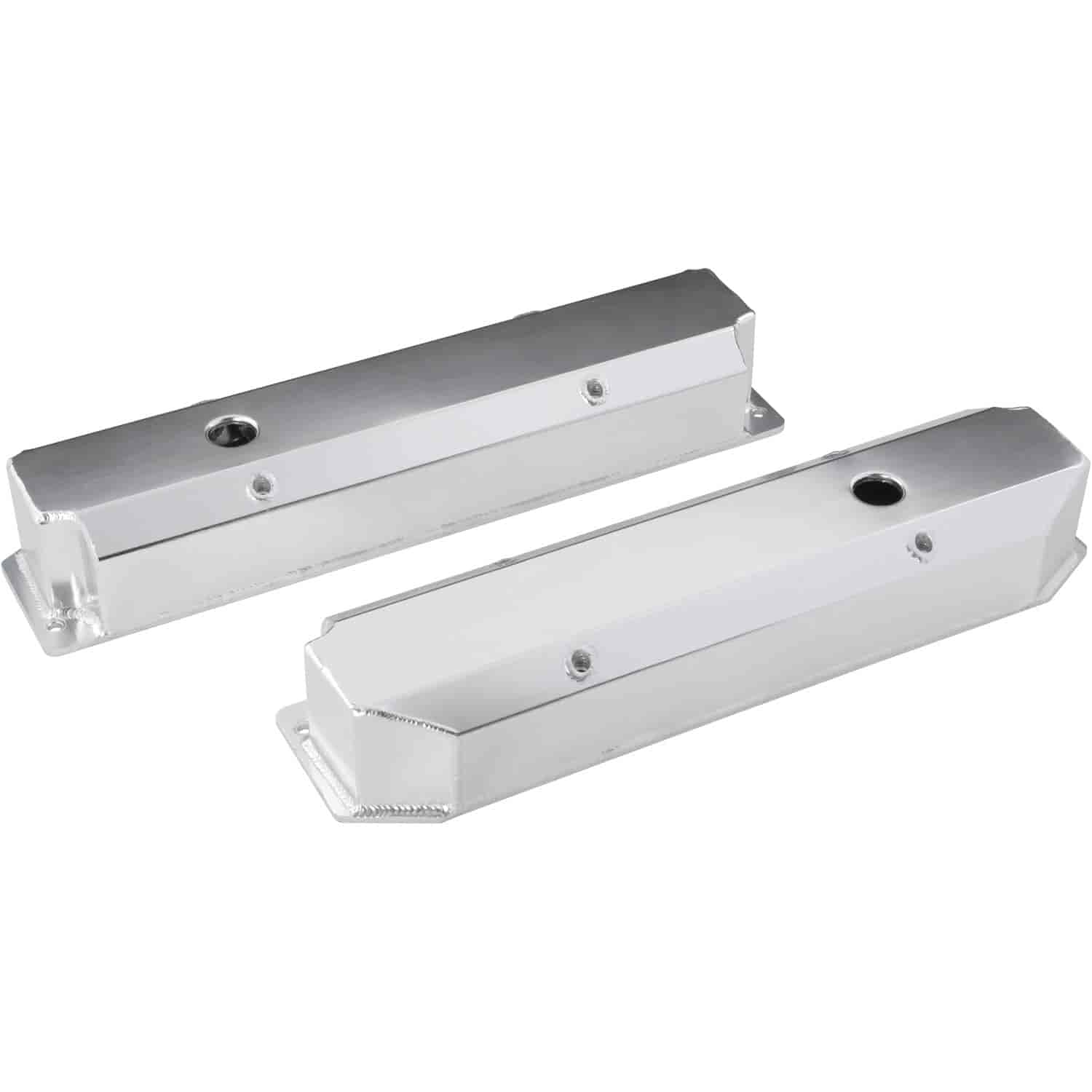 JEGS Fabricated Aluminum Valve Covers for Big Block Chrysler 383-440