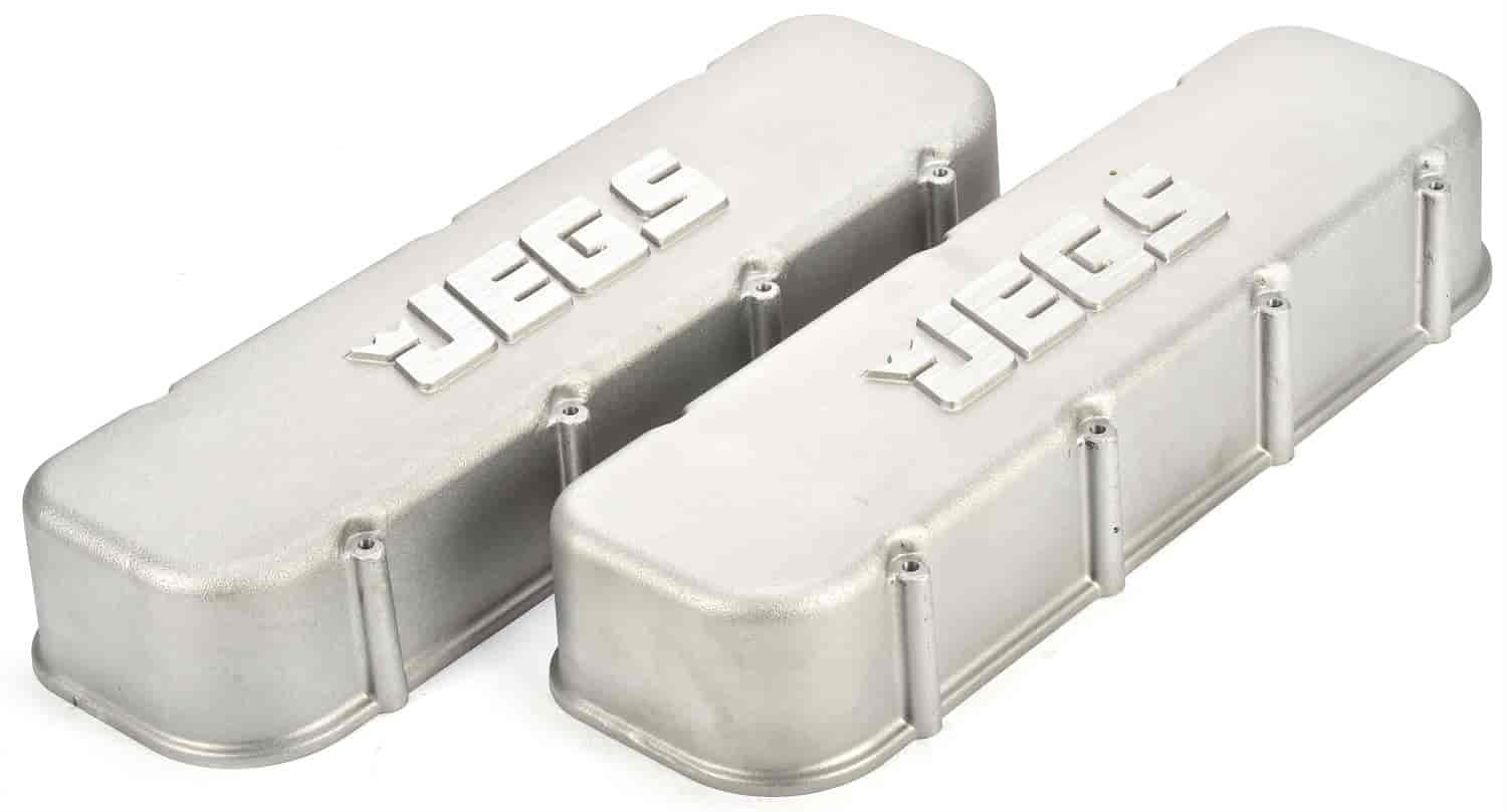 JEGS Performance Products 50107 - JEGS Cast Aluminum Valve Covers