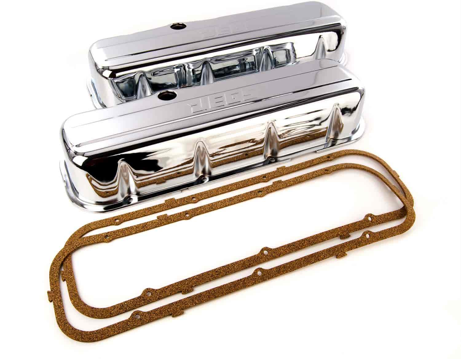 JEGS Performance Products 50108 - JEGS Chrome Valve Covers