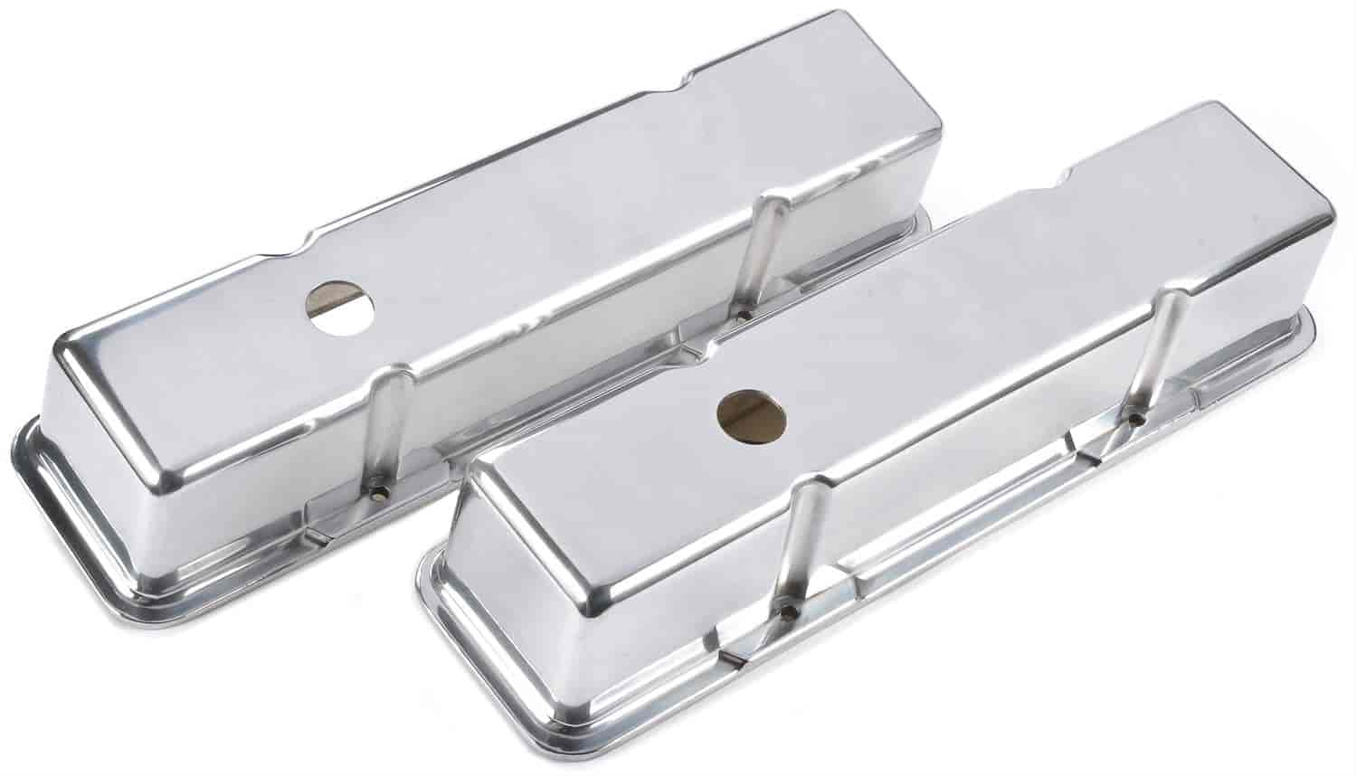 JEGS Performance Products 50151 - JEGS Cast Aluminum Valve Covers
