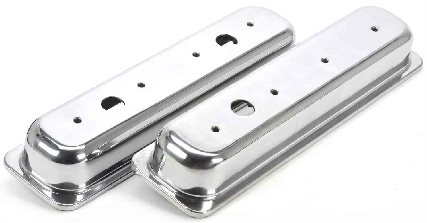 JEGS Performance Products 50152 - JEGS Cast Aluminum Valve Covers
