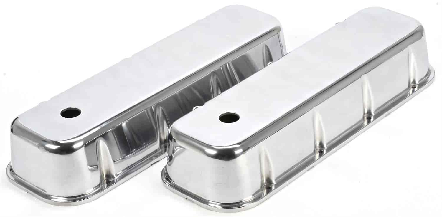 JEGS Performance Products 50156 - JEGS Cast Aluminum Valve Covers