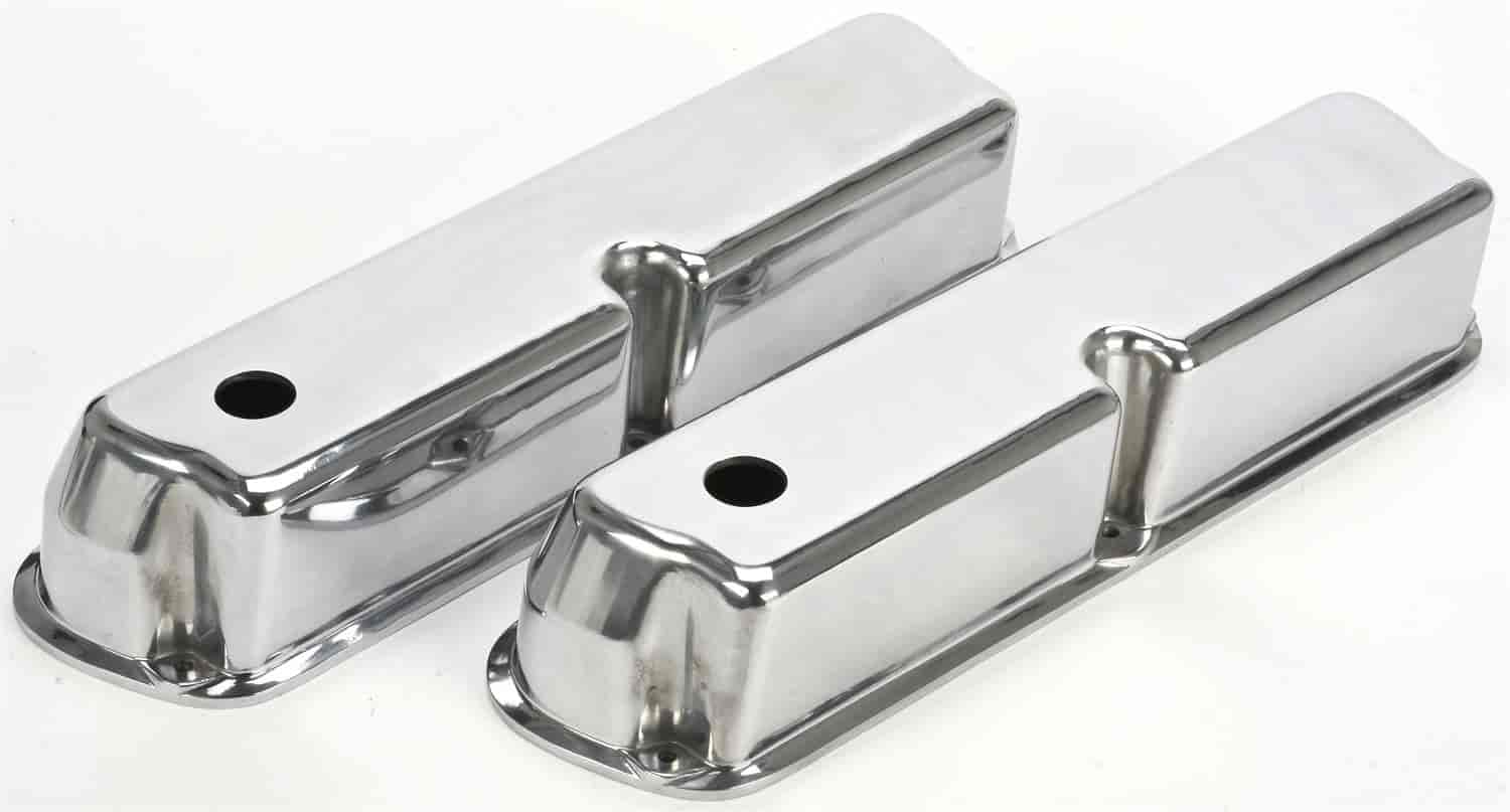 JEGS Performance Products 50159 - JEGS Cast Aluminum Valve Covers