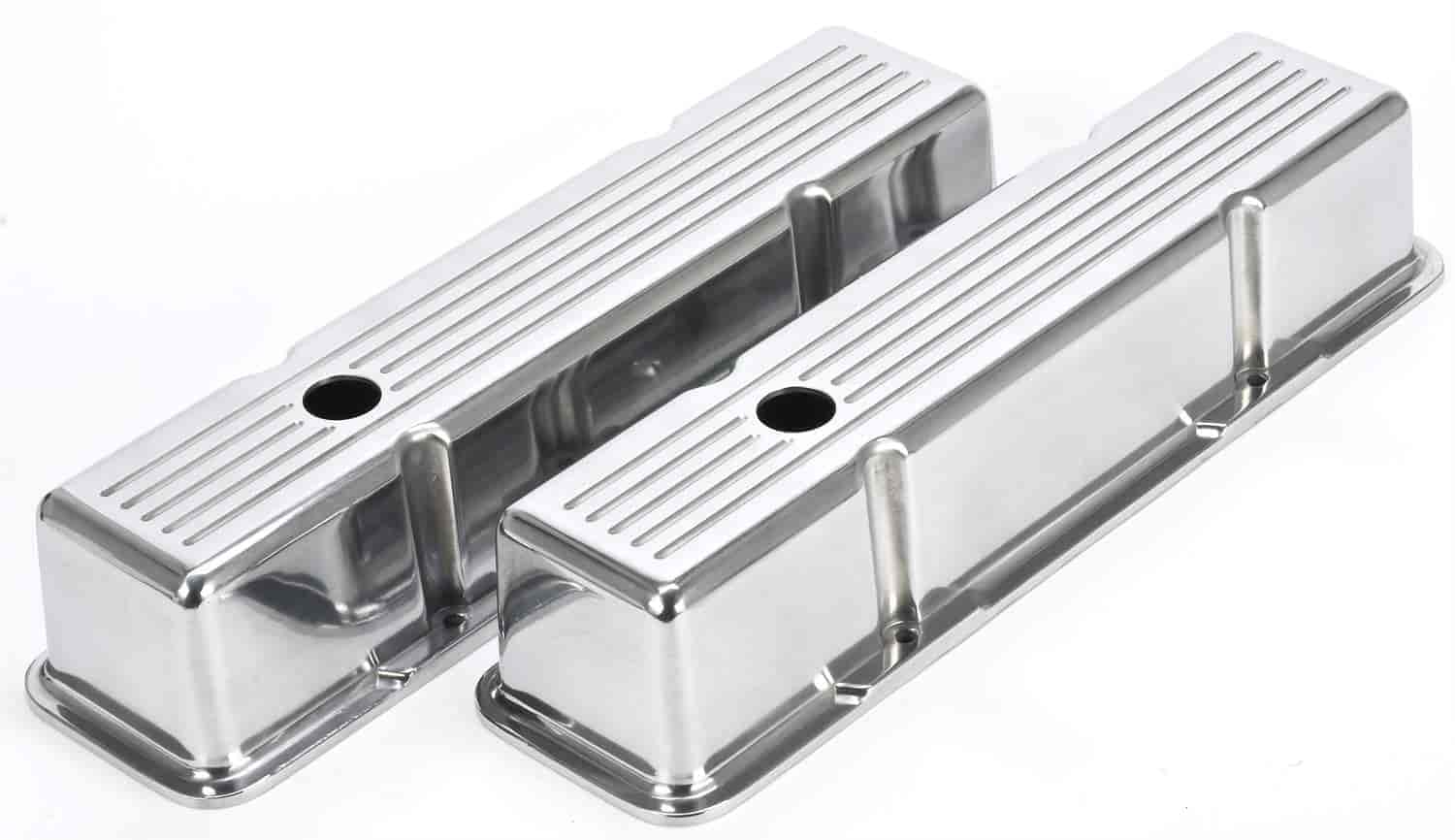 JEGS Performance Products 50161 - JEGS Cast Aluminum Valve Covers