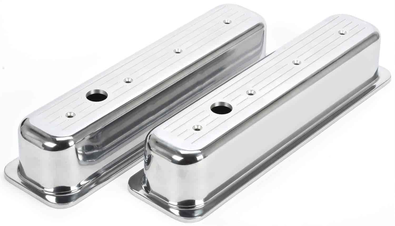 JEGS Performance Products 50163 - JEGS Cast Aluminum Valve Covers