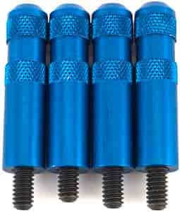 JEGS Performance Products 50172 - JEGS Knurled Aluminum Valve Cover Nuts with Studs