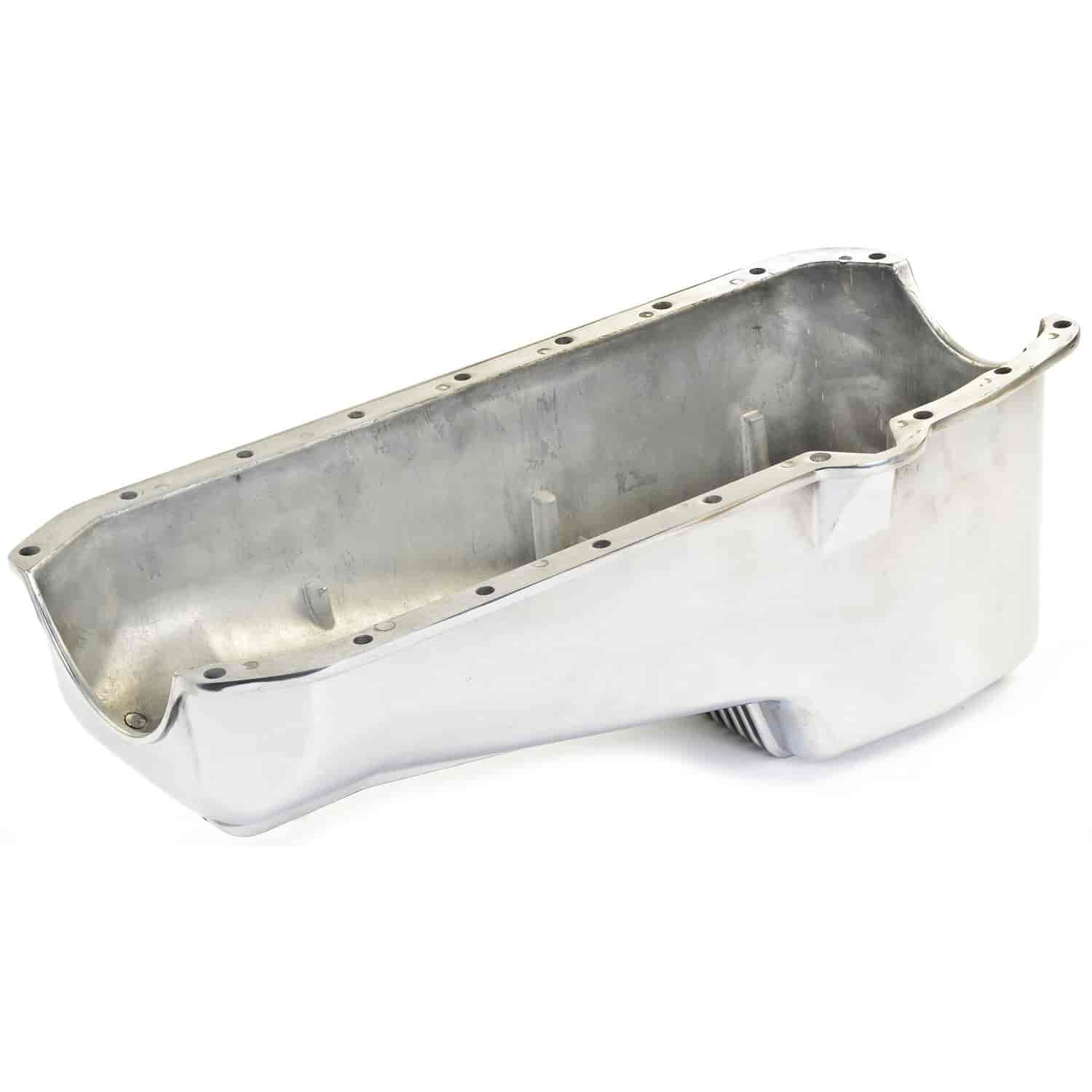 JEGS Performance Products 50200 - JEGS Aluminum Oil Pan