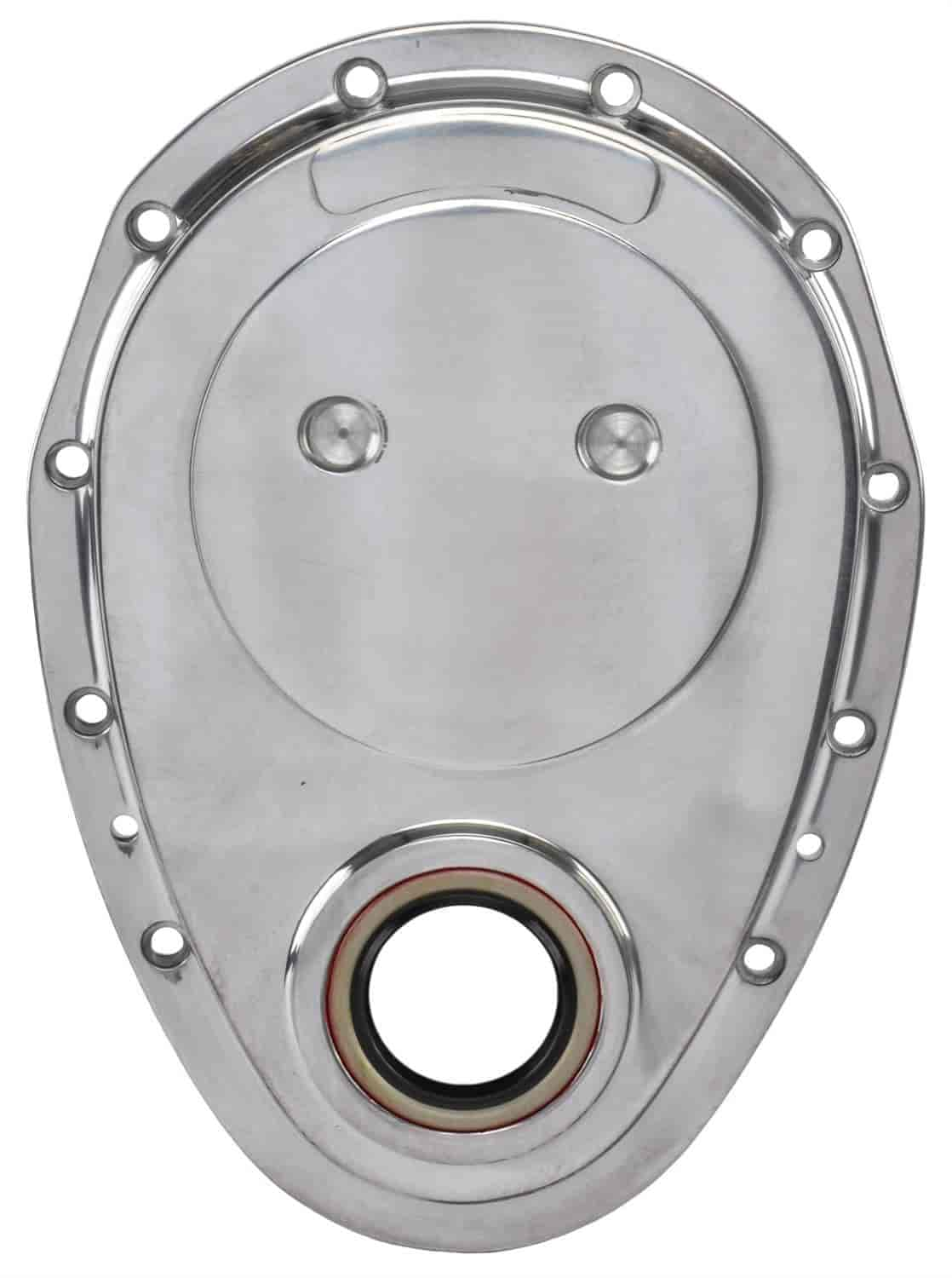 JEGS Performance Products 50305 - JEGS Polished Cast Aluminum Timing Covers