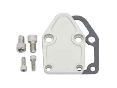 JEGS Performance Products 50500 - JEGS Billet Fuel Pump Block-Off Plates