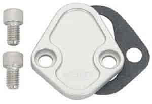 JEGS Performance Products 50505 - JEGS Billet Fuel Pump Block-Off Plates