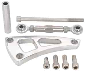 JEGS Performance Products 50546 - JEGS Small Block Chevy Billet Alternator Mounting Brackets