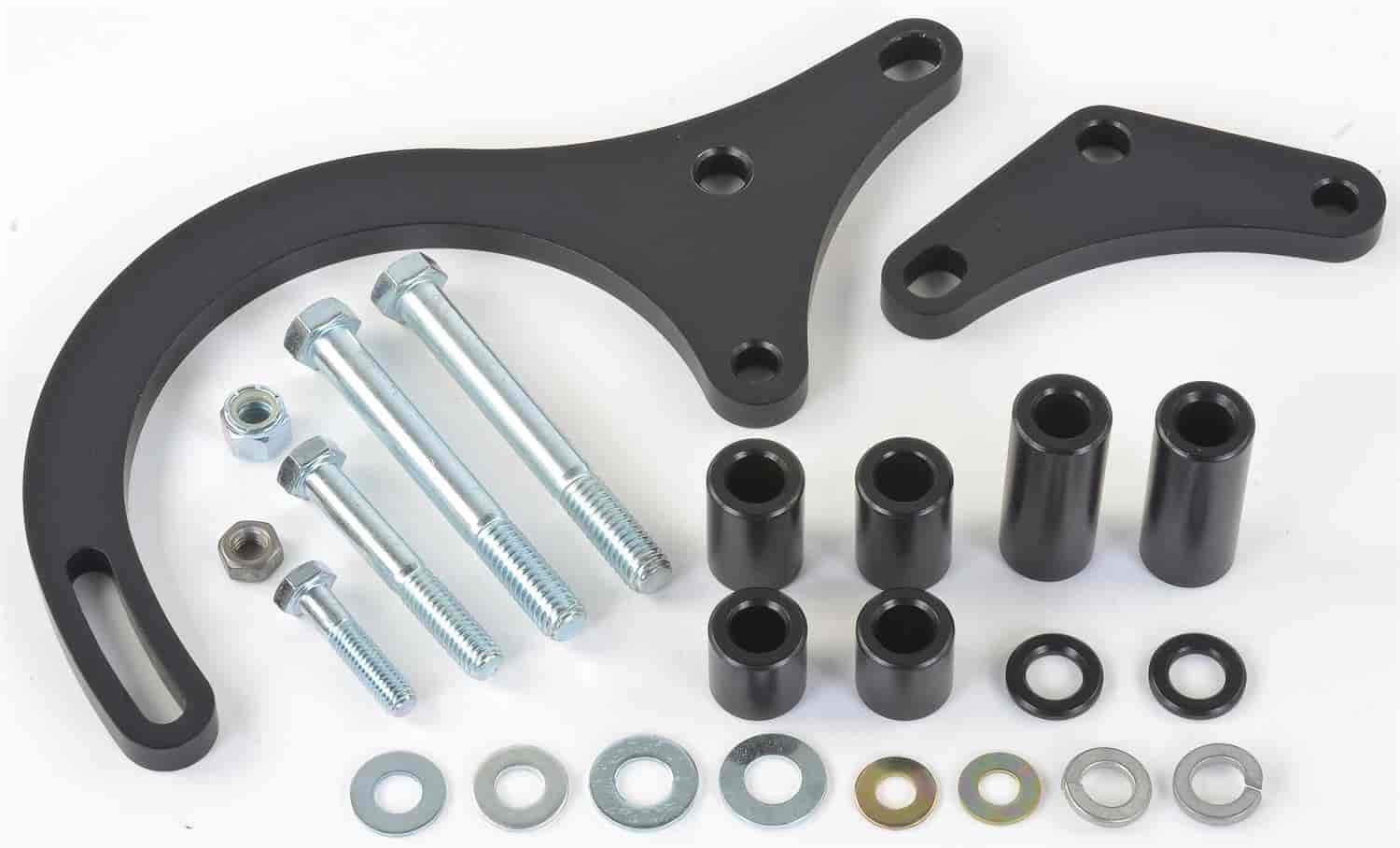 JEGS Performance Products 50613 - JEGS Small Block Chevy/Big Block Chevy Alternator Bracket Mounting Kits