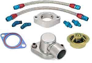 JEGS Performance Products 51100K - JEGS Thermostat Spacer/Bypass Kit