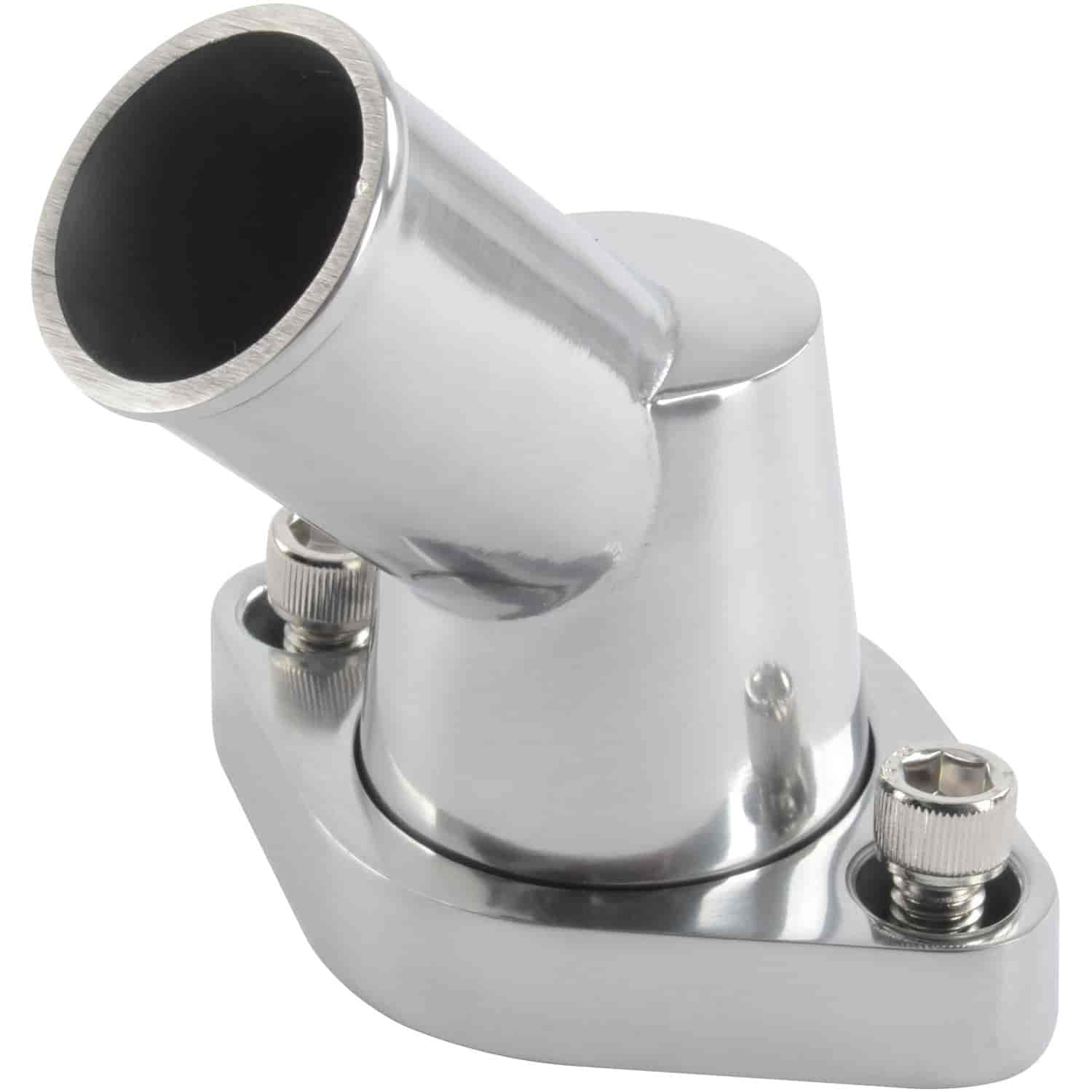 JEGS Performance Products 51111 - JEGS Cast Aluminum Billet Style Thermostat Housing