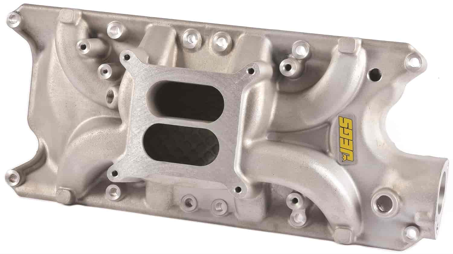 JEGS Performance Products 513020 - JEGS Champion Series 331 Performance Dual Plane Aluminum Intake Manifolds