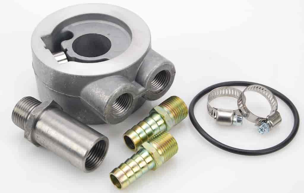 JEGS Performance Products 51710 - JEGS Thermostatic Sandwich Adapters & Hose