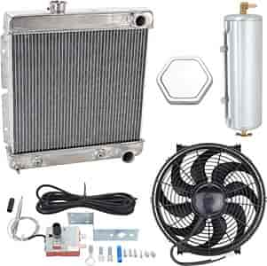 JEGS Performance Products 51920K - JEGS Direct Fit Aluminum Radiators