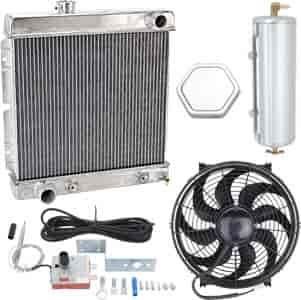 JEGS Performance Products 51921K - JEGS Direct Fit Aluminum Radiators