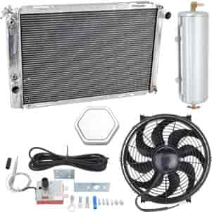 JEGS Performance Products 51922K - JEGS Direct Fit Aluminum Radiators