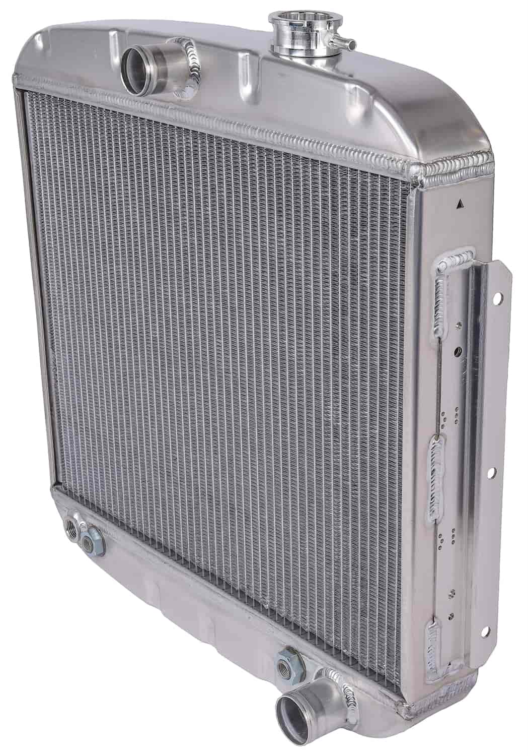 JEGS Performance Products 52050 - JEGS 55-57 Chevy Direct Fit Aluminum Radiators