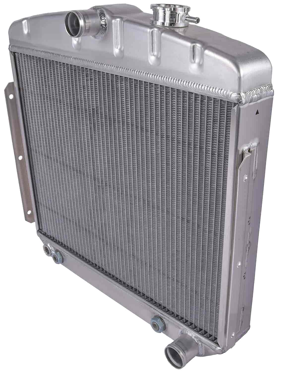 JEGS Performance Products 52051 - JEGS 55-57 Chevy Direct Fit Aluminum Radiators