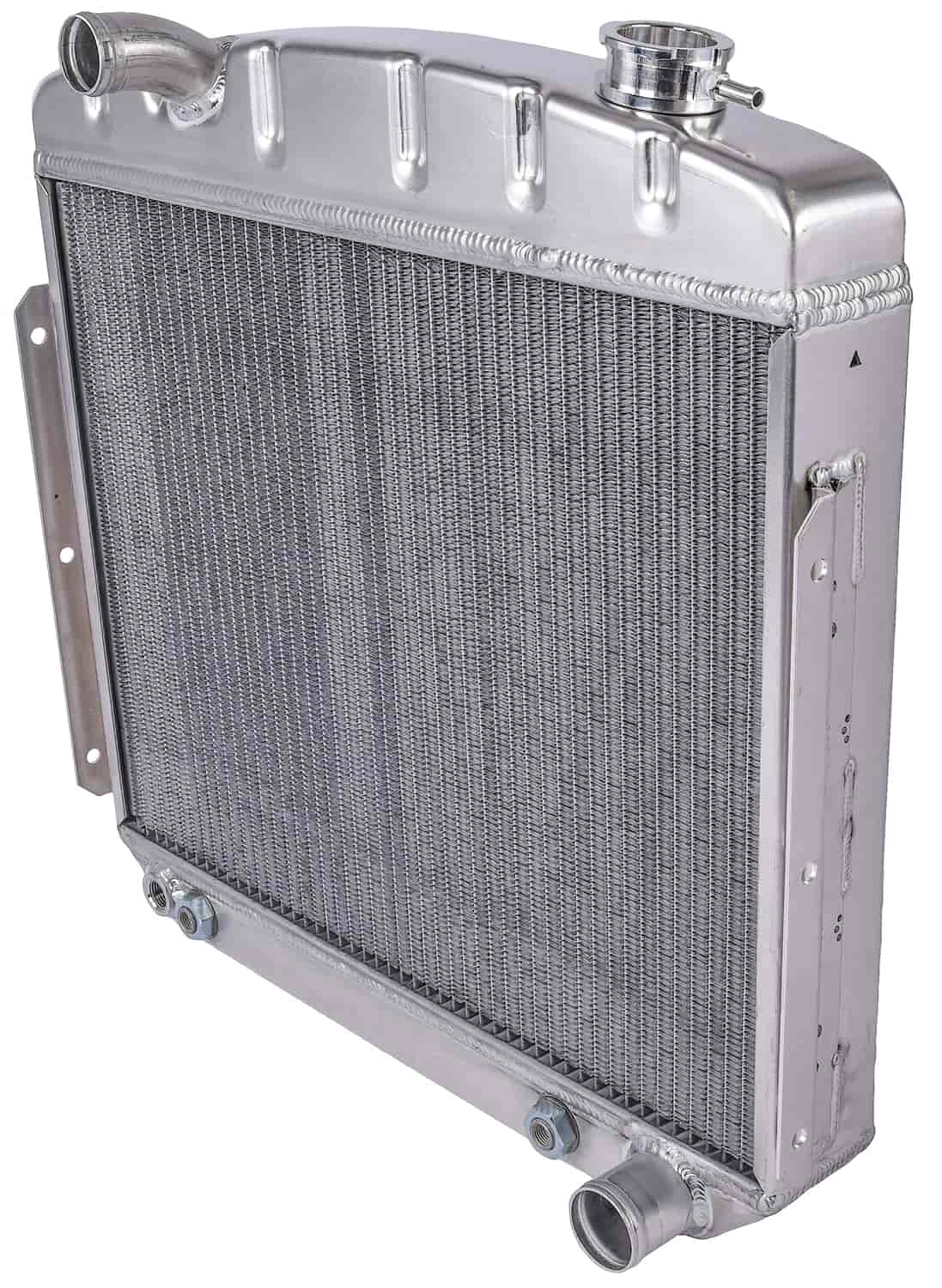 JEGS Performance Products 52052 - JEGS 55-57 Chevy Direct Fit Aluminum Radiators