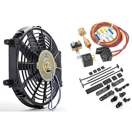 555 52112k jegs performance products 52112k universal electric fan with VW Wiring Harness Kits at creativeand.co