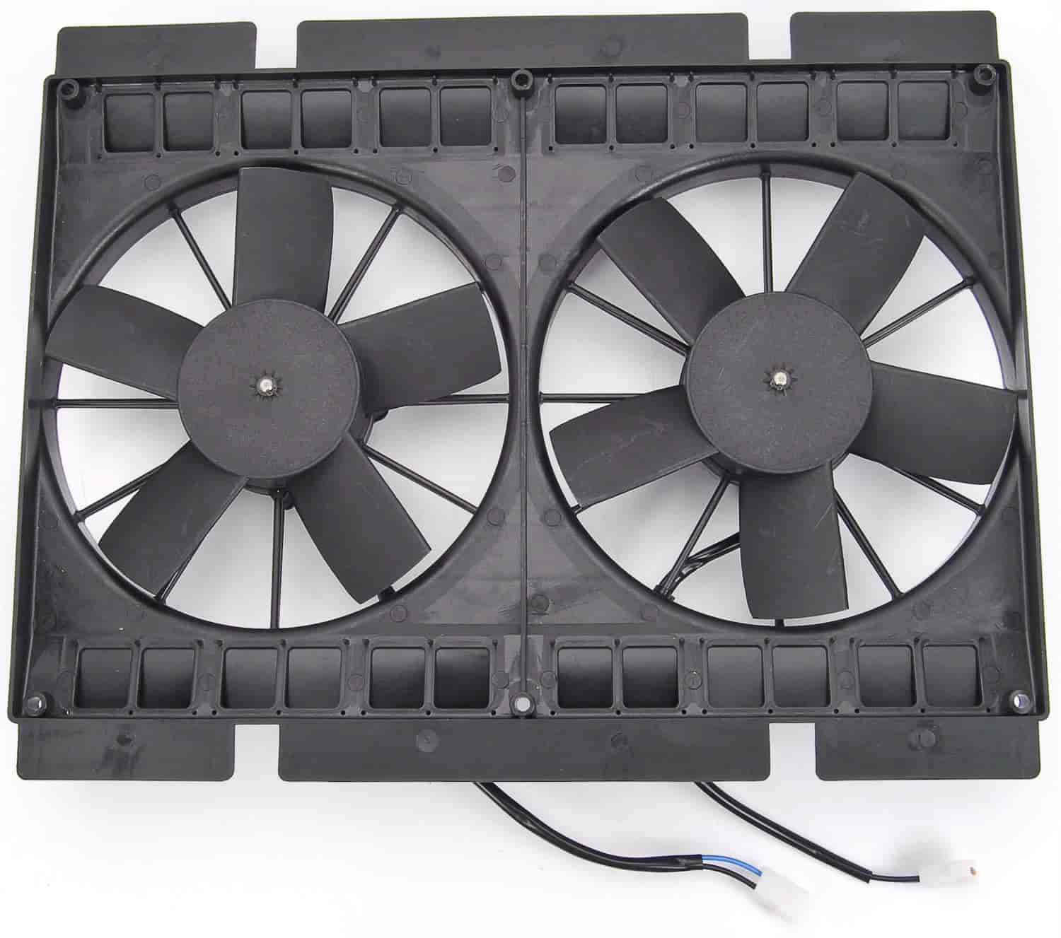JEGS Performance Products 52115 - JEGS Dual Electric Cooling Fans