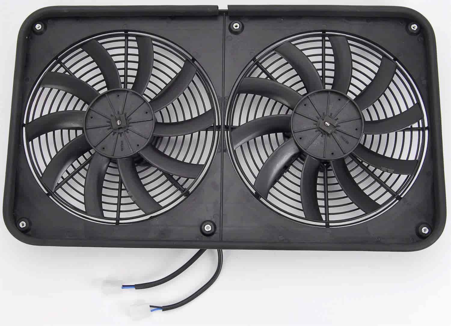 JEGS Performance Products 52116 - JEGS Dual Electric Cooling Fans