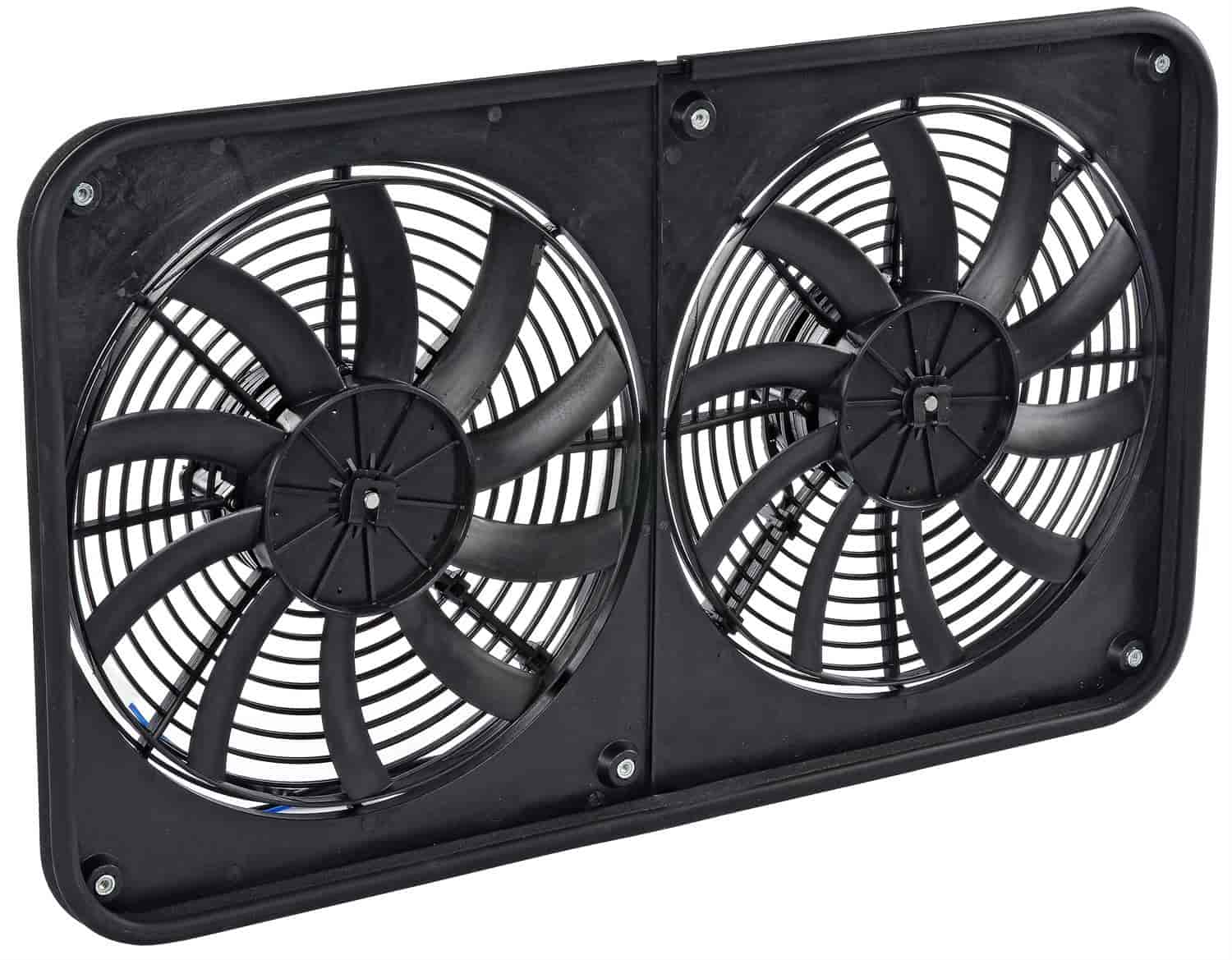 JEGS Performance Products 52118 - JEGS Dual Electric Cooling Fans