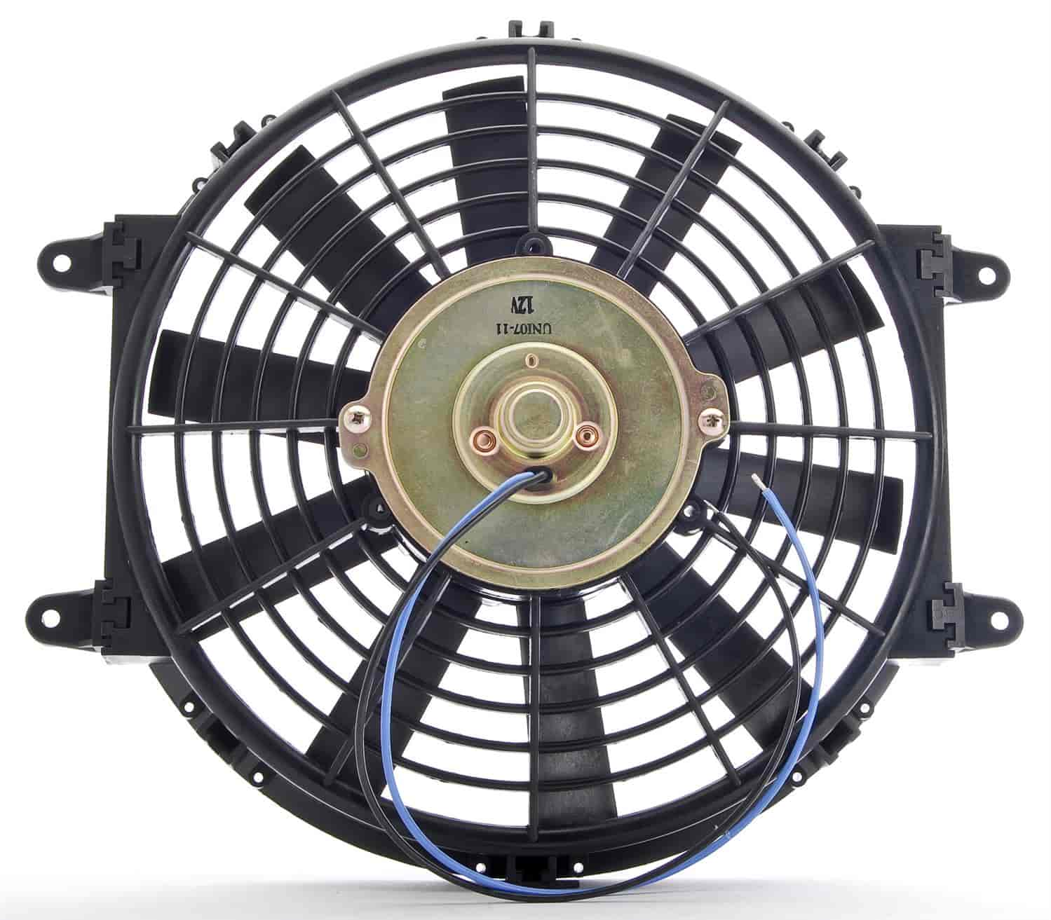 JEGS Performance Products 52130 - JEGS Straight Blade Universal Electric Fans