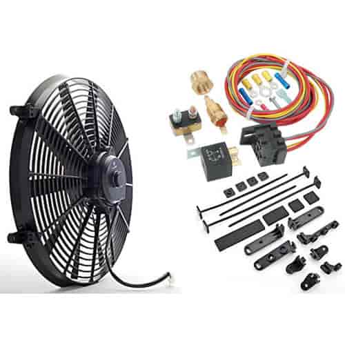 555 52132k jegs performance products 52133k universal electric fan with VW Wiring Harness Kits at sewacar.co