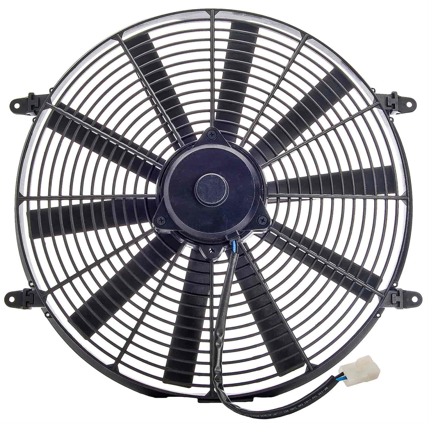 JEGS Performance Products 52133 - JEGS Straight Blade Universal Electric Cooling Fans