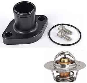 JEGS Performance Products 53250K1 - JEGS Magnum 5.2L/5.9L Billet Thermostat Housing