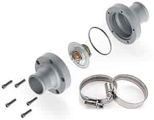 JEGS Performance Products 53260K - JEGS In-Line Thermostat Housing