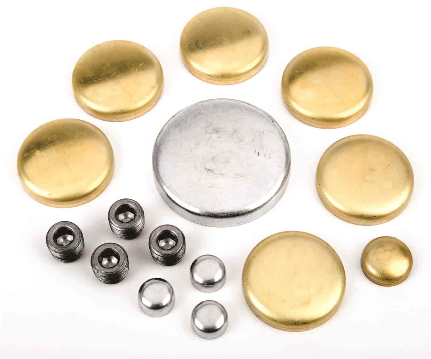 JEGS Performance Products 58005 - JEGS Brass Freeze Plug Kits