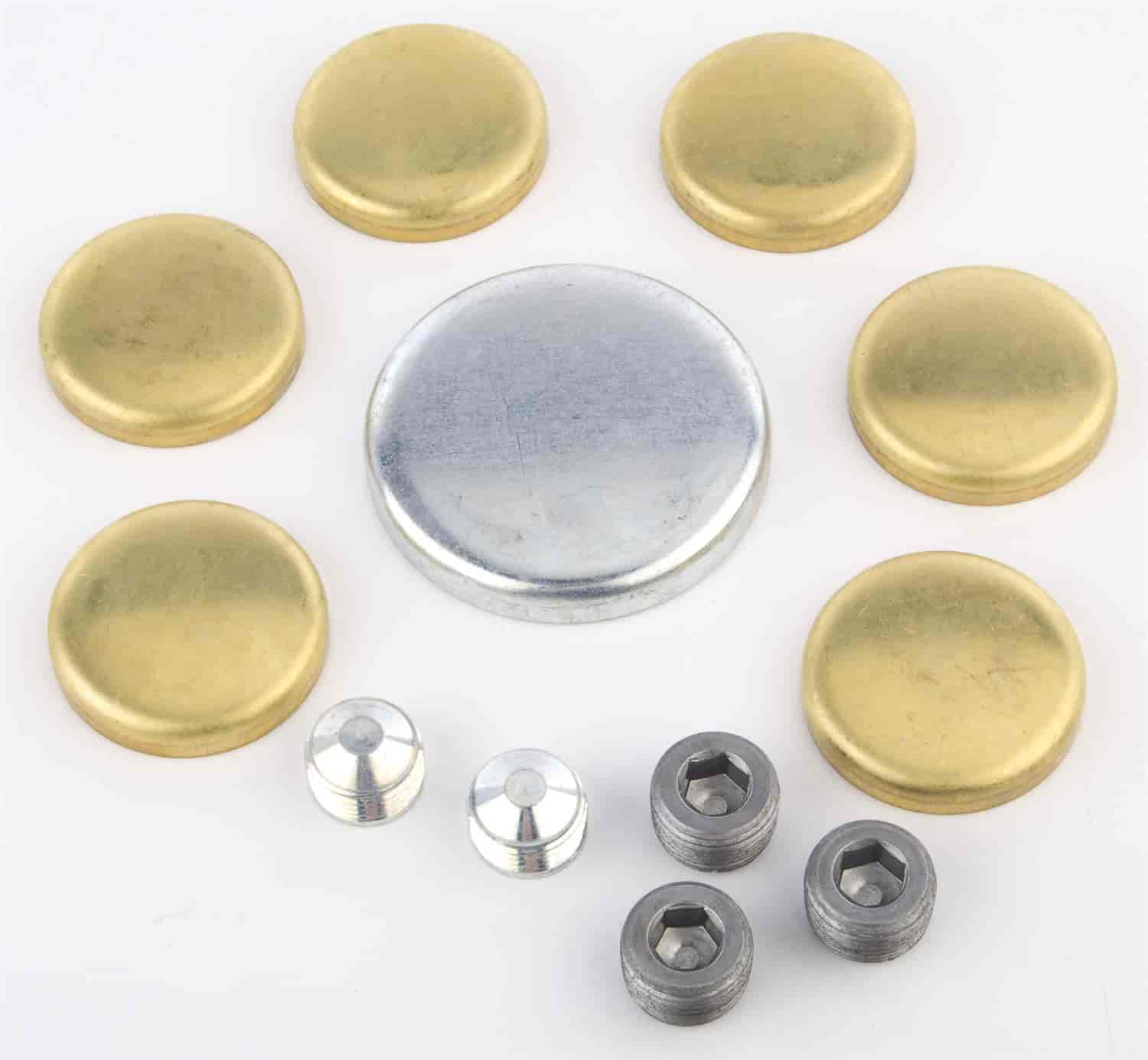 JEGS Performance Products 58006 - JEGS Brass Freeze Plug Kits