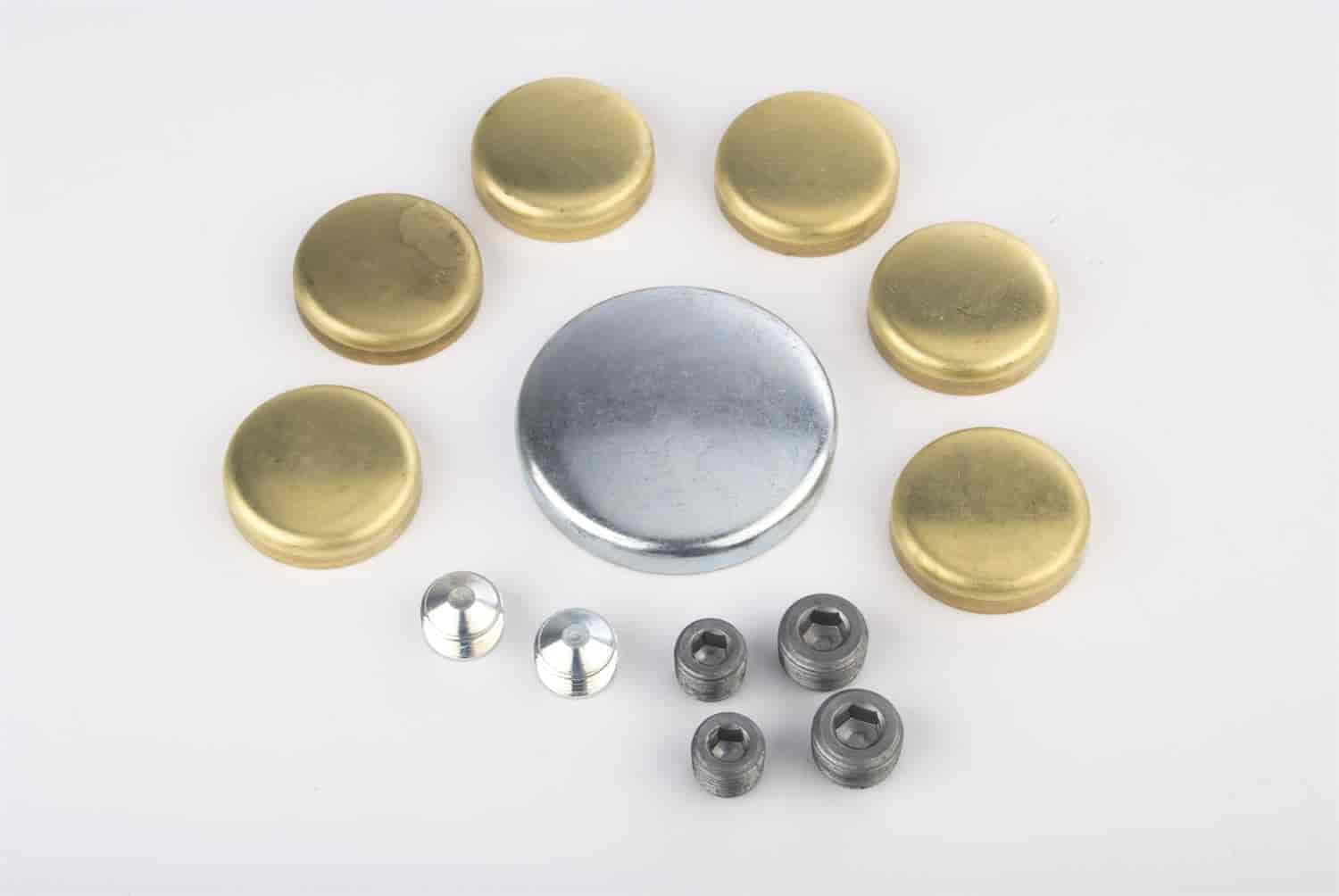 JEGS Performance Products 58008 - JEGS Brass Freeze Plug Kits