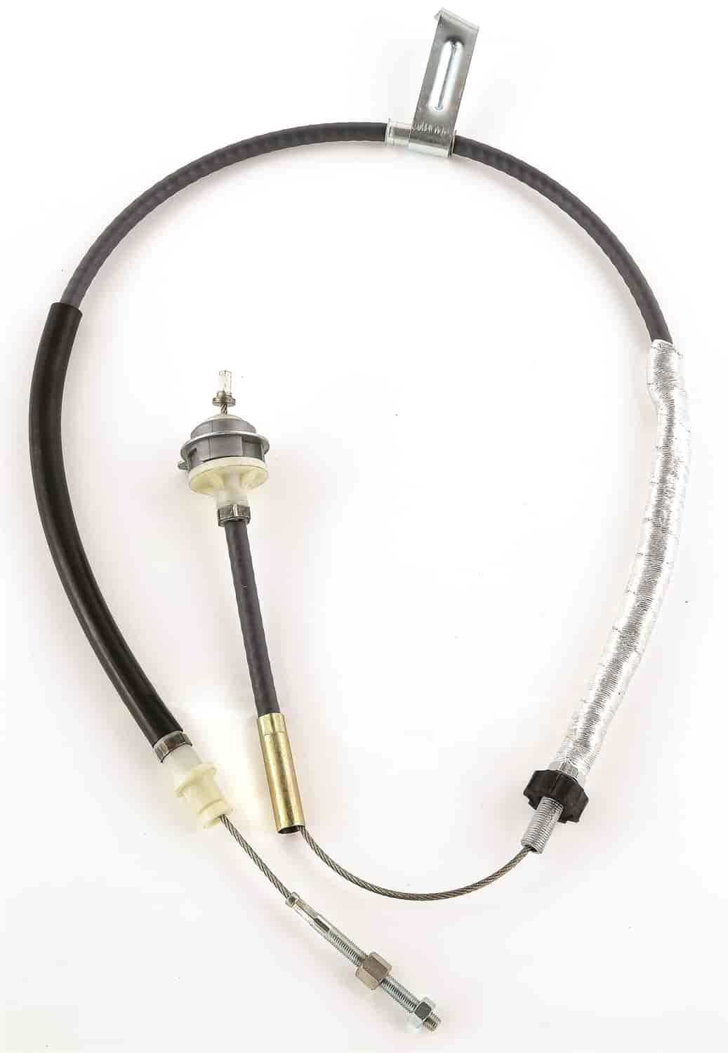 JEGS Performance Products 60149 - JEGS Heavy-Duty Adjustable Clutch Cable for 1979-95 Mustang