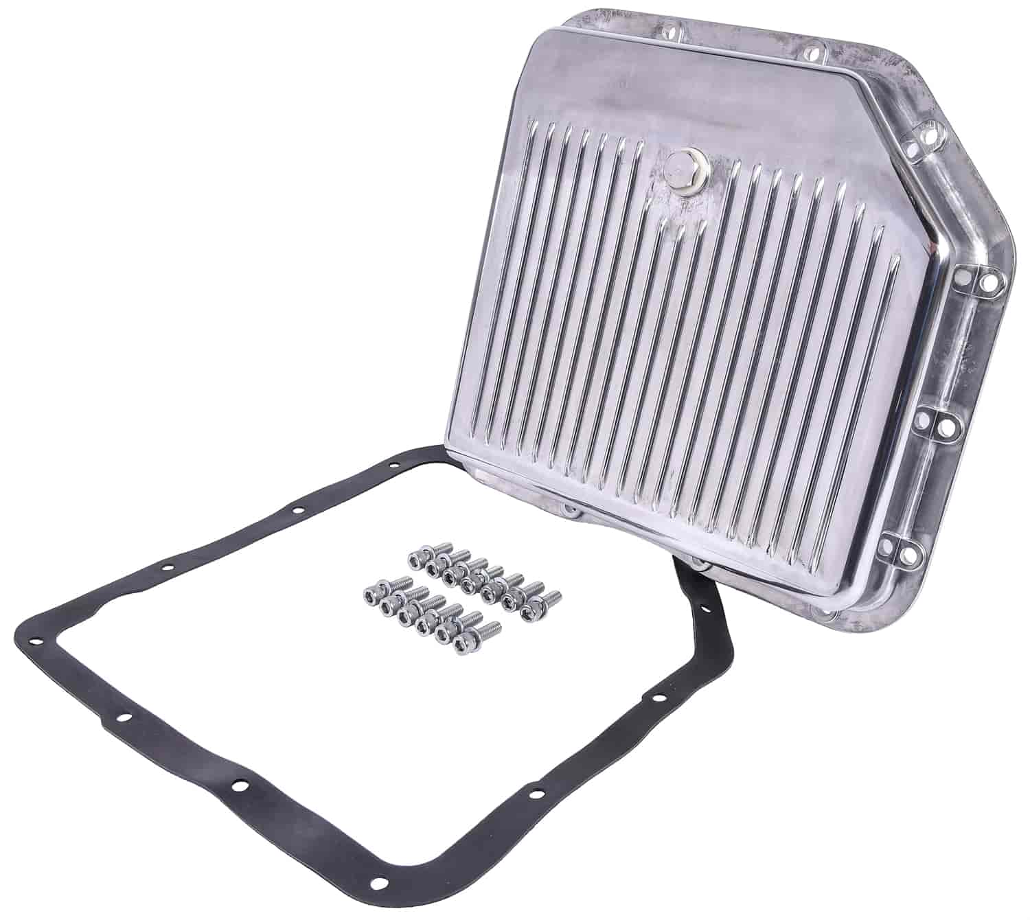 JEGS Performance Products 60180 - JEGS Polished Aluminum Transmission Pans