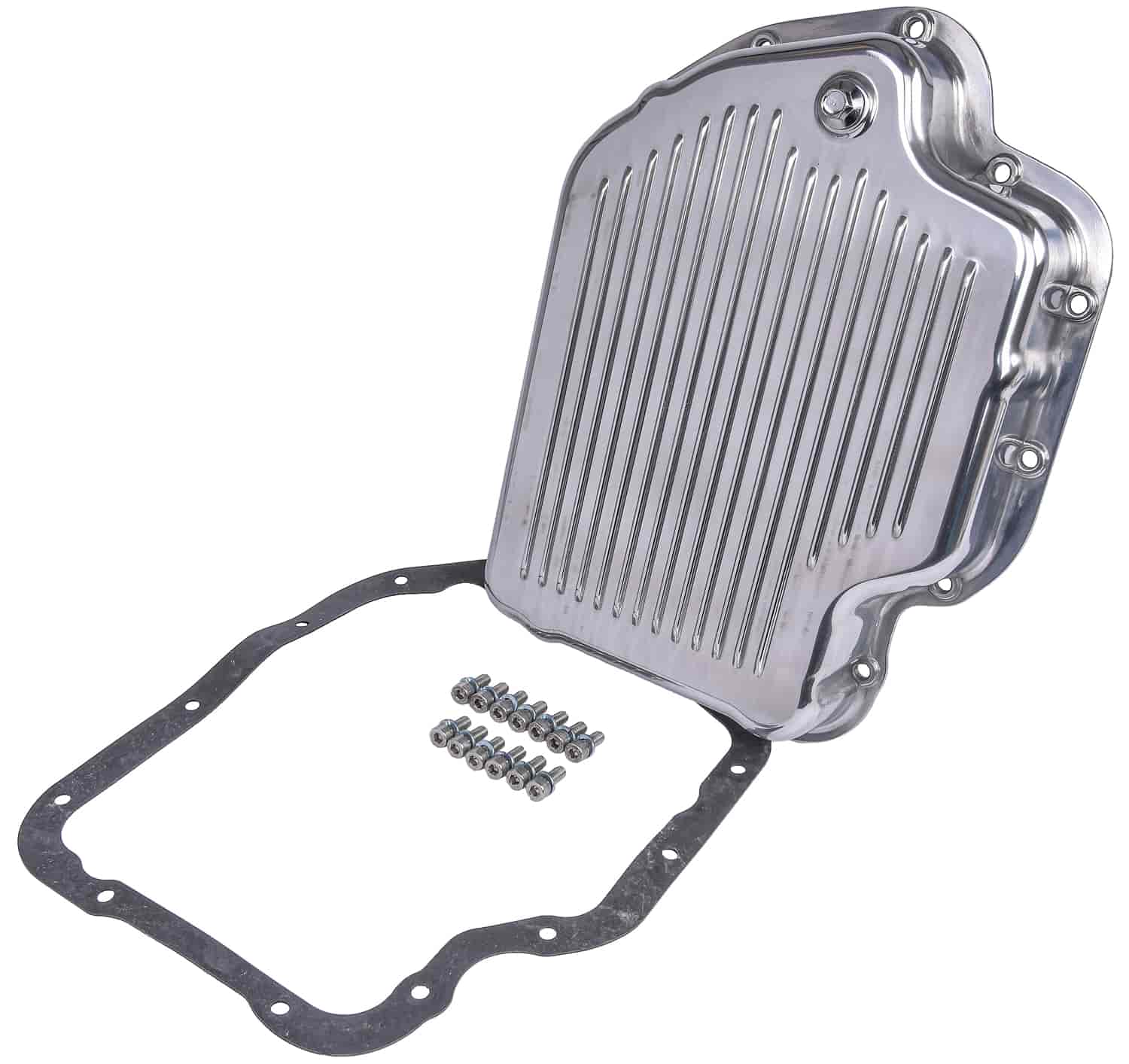 JEGS Performance Products 60181 - JEGS Polished Aluminum Transmission Pans
